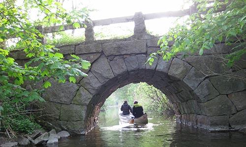 Kanalen mellan Oppmannasjön och Ivösjön - Fotograf Kerstin Söderlind
