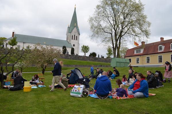 Näsums Kyrka, picnic